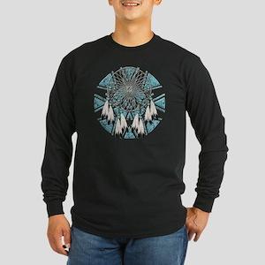 Dream Catcher Long Sleeve Dark T-Shirt
