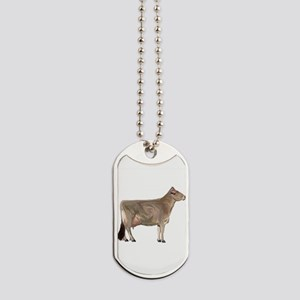 Brown Swiss Dairy Cow Dog Tags