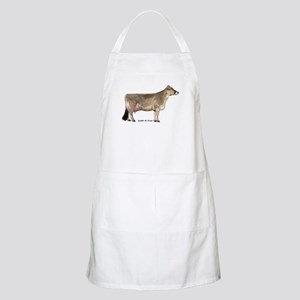 Brown Swiss Dairy Cow Apron