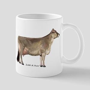 Brown Swiss Dairy Cow Mug