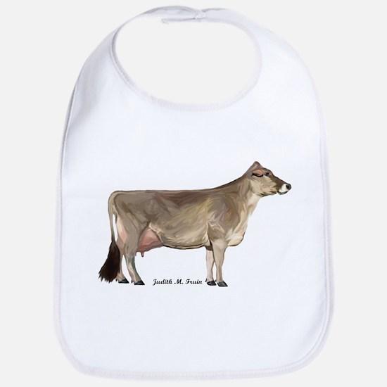 Brown Swiss Dairy Cow Bib