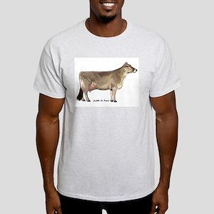 Brown Swiss Dairy Cow Light T-Shirt