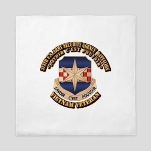 313th USA SAB Queen Duvet