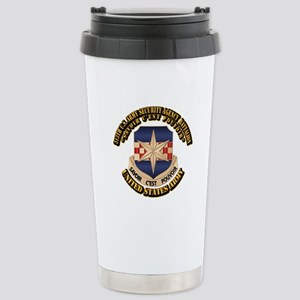 313th USA SAB w Text Stainless Steel Travel Mug