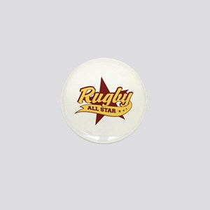 Rugby All Star Mini Button