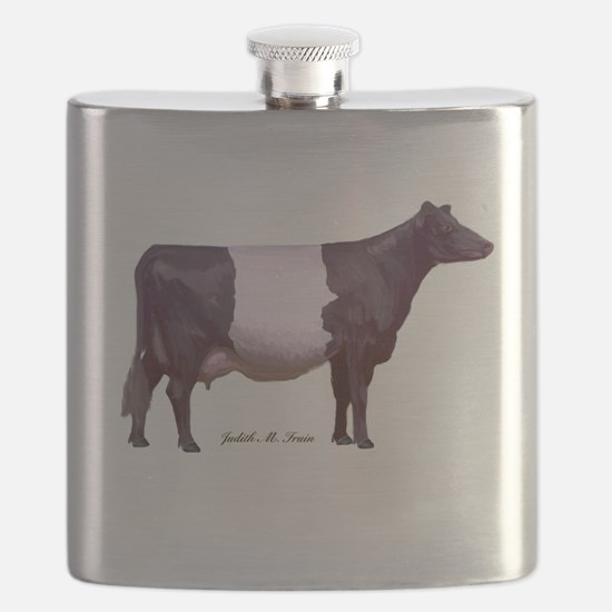 Dutch Belt Dairy Cow Flask
