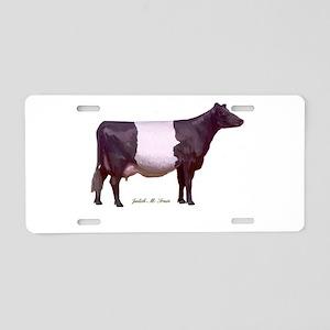 Dutch Belt Dairy Cow Aluminum License Plate