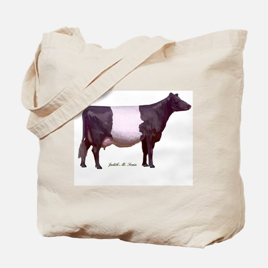 Dutch Belt Dairy Cow Tote Bag