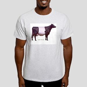 Dutch Belt Dairy Cow Light T-Shirt
