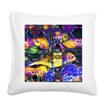 Nature Reflections II Square Canvas Pillow