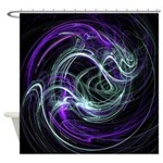 Light Within, Abstract Swirls Shower Curtain