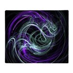 Light Within, Abstract Swirls Throw Blanket