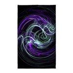 Light Within, Abstract Swirls 3'x5' Area Rug