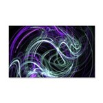 Light Within, Abstract Swirls 20x12 Wall Decal