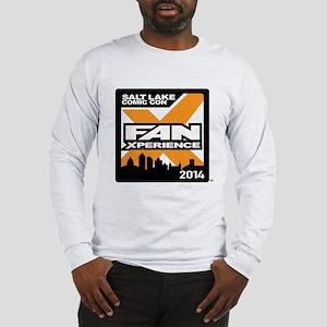 FanX 2014 Square Logo Long Sleeve T-Shirt
