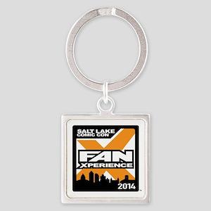 FanX 2014 Square Logo Square Keychain