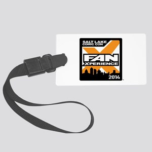 FanX 2014 Square Logo Large Luggage Tag