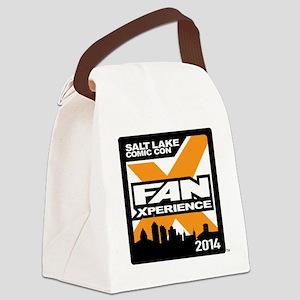 FanX 2014 Square Logo Canvas Lunch Bag