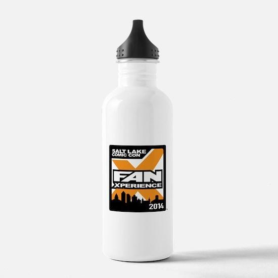 FanX 2014 Square Logo Water Bottle