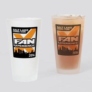 FanX 2014 Square Logo Drinking Glass
