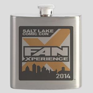 FanX 2014 Square Logo Flask