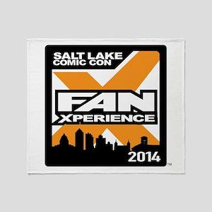 FanX 2014 Square Logo Throw Blanket