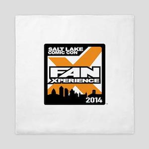 FanX 2014 Square Logo Queen Duvet