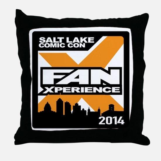 FanX 2014 Square Logo Throw Pillow