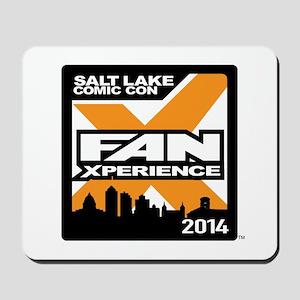 FanX 2014 Square Logo Mousepad