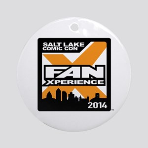 FanX 2014 Square Logo Ornament (Round)