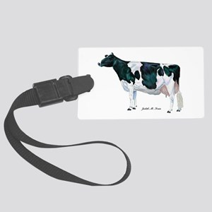 Holstein Cow Large Luggage Tag