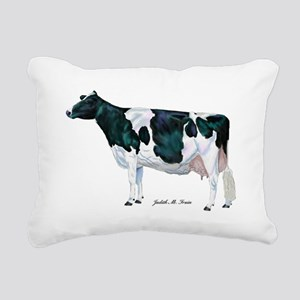 Holstein Cow Rectangular Canvas Pillow