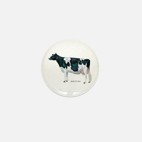 Holstein Cow Mini Button