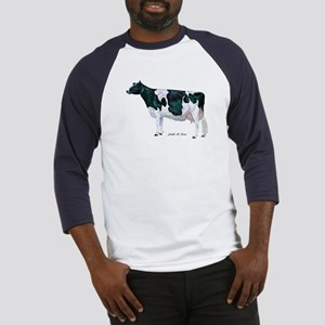 Holstein Cow Baseball Jersey