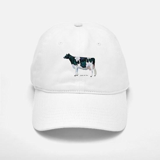 Holstein Cow Baseball Baseball Cap