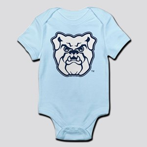 Butler Bulldog Baby Light Bodysuit