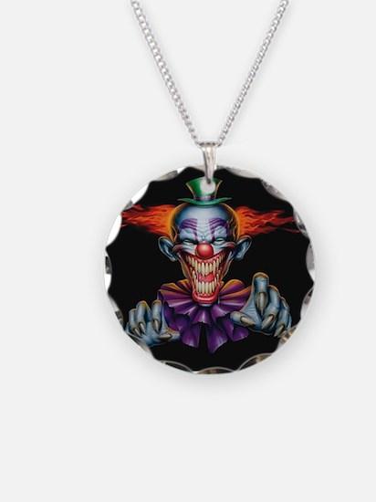 Killer Evil Clown Necklace