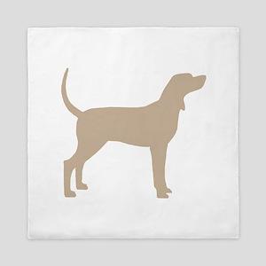 Coonhound Dog (#2) Queen Duvet
