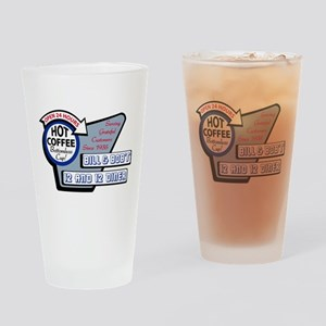 Bill & Bob's 12 and 12 Diner Drinking Glass