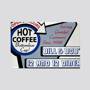 Bill & Bob's 12 and 12 Diner Magnets