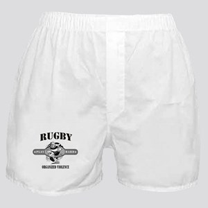 Rugby Organized Violence Boxer Shorts