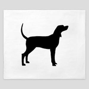 Coonhound Dog (#2) King Duvet