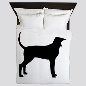 Coonhound Dog (#2) Queen Duvet