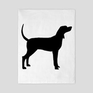 Coonhound Dog (#2) Twin Duvet