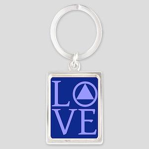 AA Love Portrait Keychain