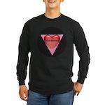 SIZE MATTERS Long Sleeve Dark T-Shirt