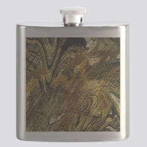 abstract fascination olive Flask