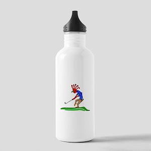Kokopelli Golfer Water Bottle