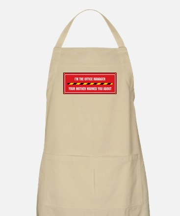 I'm the Office Manager BBQ Apron