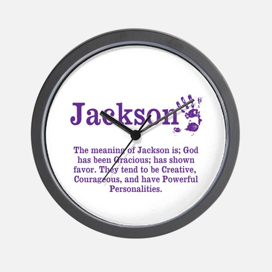 The Meaning of Jackson Wall Clock